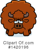 Royalty-Free (RF) Buffalo Clipart Illustration #1420196