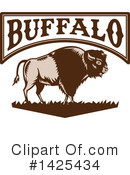 Buffalo Clipart #1425434 by patrimonio