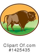 Buffalo Clipart #1425435 by patrimonio