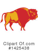 Buffalo Clipart #1425438 by patrimonio