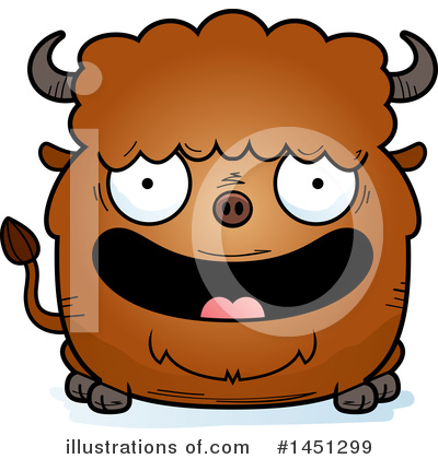 Buffalo Clipart #1451299 by Cory Thoman