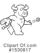 Buffalo Clipart #1530817 by Cory Thoman