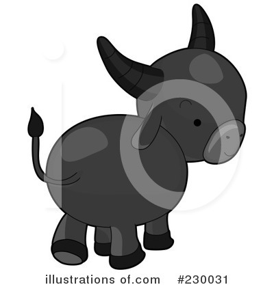 Water Buffalo Clipart #230031 by BNP Design Studio