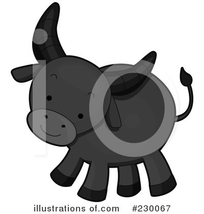 Water Buffalo Clipart #230067 by BNP Design Studio
