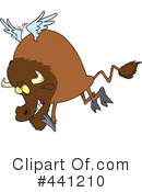 Buffalo Clipart #441210 by toonaday
