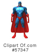 Buffman Super Hero Character Clipart #57347 by Julos