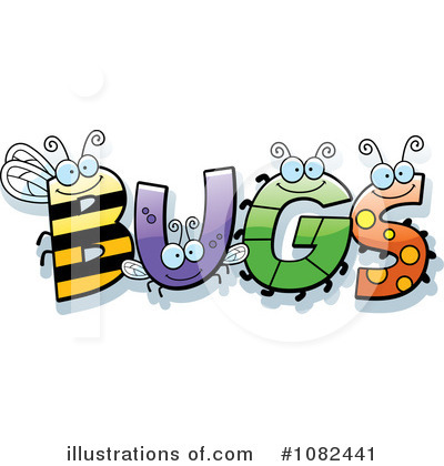 Royalty-Free (RF) Bugs Clipart Illustration by Cory Thoman - Stock ...