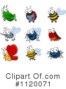 Royalty-Free (RF) Bugs Clipart Illustration #1120071