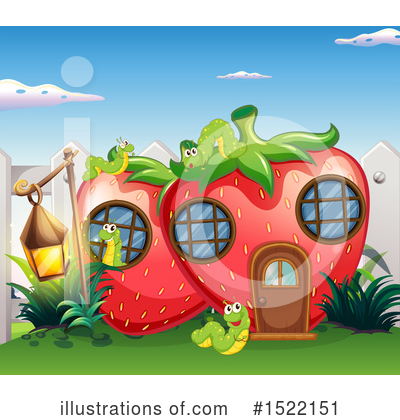 Strawberry Clipart #1522151 by Graphics RF