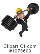 Builder Clipart #1078600 by Julos