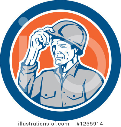Builder Clipart #1255914 by patrimonio
