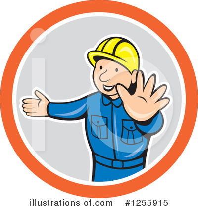 Builder Clipart #1255915 by patrimonio