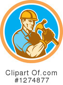 Builder Clipart #1274877 by patrimonio
