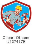 Builder Clipart #1274879 by patrimonio