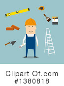 Builder Clipart #1380818 by Vector Tradition SM