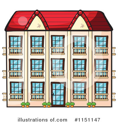 Buildings Clipart #1151147 by Graphics RF