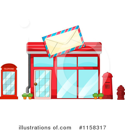 Post Office Clipart #1158317 by Graphics RF