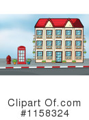 Building Clipart #1158324 by Graphics RF