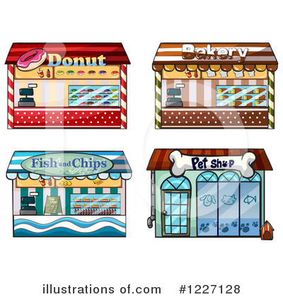 Facade Clipart #1227128 by Graphics RF