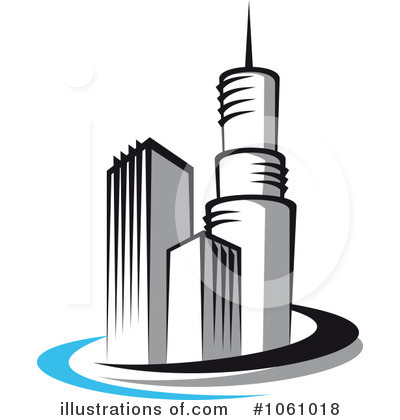 Buildings Clipart #1061018 - Illustration by Vector Tradition SM