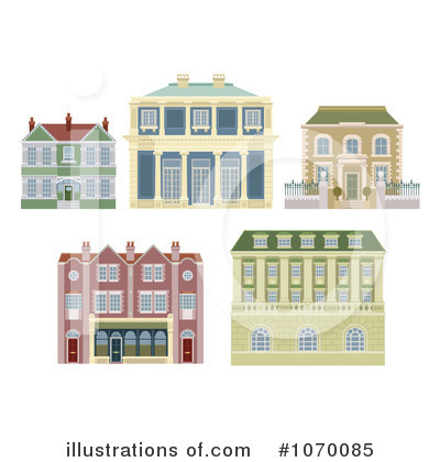 Housing Clipart #1070085 by AtStockIllustration