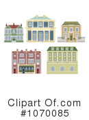 Royalty-Free (RF) buildings Clipart Illustration #1070085