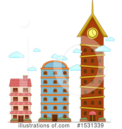 Royalty-Free (RF) Buildings Clipart Illustration by BNP Design Studio - Stock Sample #1531339