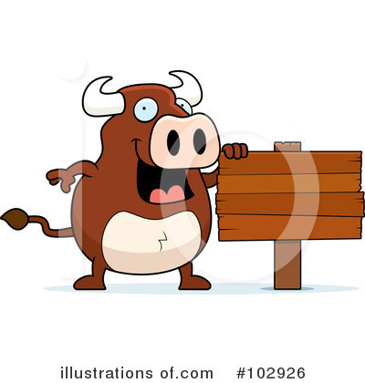 Bull Clipart #102926 by Cory Thoman