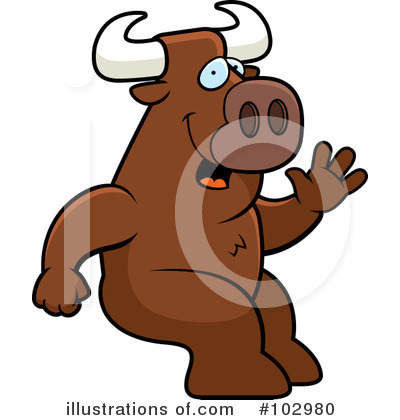 Bull Clipart #102980 by Cory Thoman