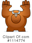 Bull Clipart #1114774 by Cory Thoman