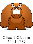 Royalty-Free (RF) Bull Clipart Illustration #1114776