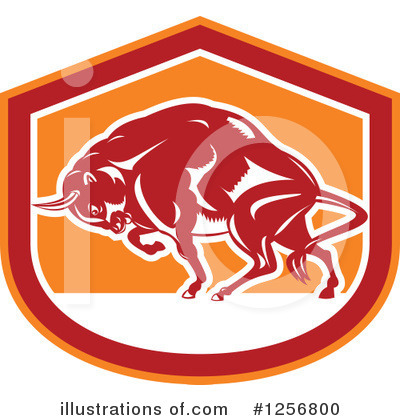 Buffalo Clipart #1256800 by patrimonio