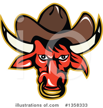 Rodeo Clipart #1358333 by patrimonio