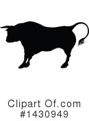 Bull Clipart #1430949 by AtStockIllustration