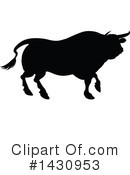 Bull Clipart #1430953 by AtStockIllustration