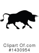 Bull Clipart #1430954 by AtStockIllustration