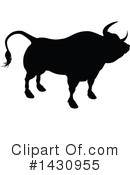 Bull Clipart #1430955 by AtStockIllustration