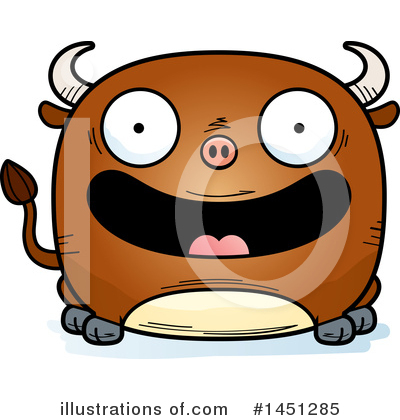 Bull Clipart #1451285 by Cory Thoman