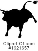 Bull Clipart #1621657 by AtStockIllustration