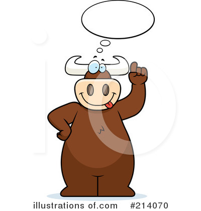 Bull Clipart #214070 by Cory Thoman