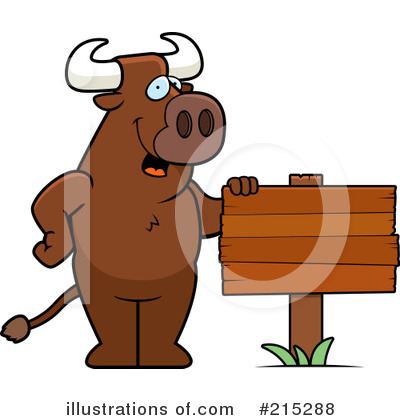Bull Clipart #215288 by Cory Thoman