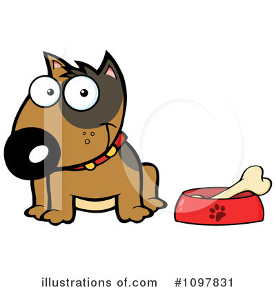 Food Dish Clipart #1097831 by Hit Toon
