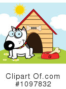 Bull Terrier Clipart #1097832 by Hit Toon
