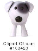 Bull Terrier Dog Clipart #103420 by Julos
