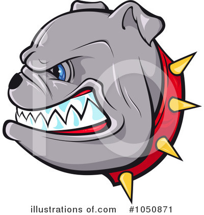 Bulldog Clipart #1050871 by Paulo Resende