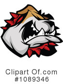 Bulldog Clipart #1089346 by Chromaco