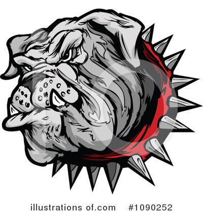 Royalty-Free (RF) Bulldog Clipart Illustration by Chromaco - Stock Sample #1090252