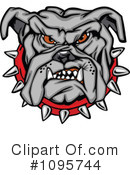 Bulldog Clipart #1095744 by Chromaco
