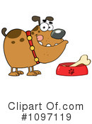 Royalty-Free (RF) Bulldog Clipart Illustration #1097119