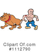 Bulldog Clipart #1112790 by LaffToon